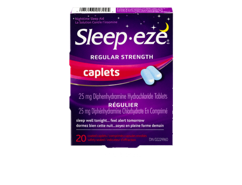 Sleepeze Regular strenght caplets